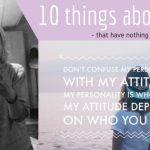 10 things about me that have nothing to with food!