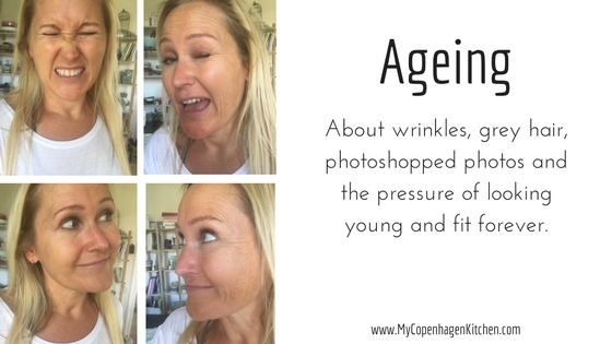 About wrinkles, grey hair, photoshopped photos and the pressure of staying young and fit forever