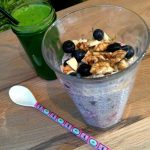 Dairyfree breakfast on LCHF? Try Chia pudding with blueberries and sweet walnuts --> MyCopenhagenKitchen.com