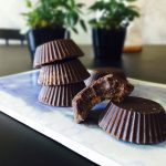 Nougat fudge - or nougat fat bombs. Ultra low carb and ultra high fat. These are perfect for people eating a strict low carb diet / LCHF / keto. Easy recipe - only 4 ingredients here: